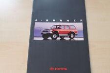88485) Toyota 4 Runner Prospekt 10/1993