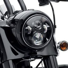 "40W 7"" Round Motorcycle Projector Daymaker Headlight Hi/Lo LED For Harley H4"