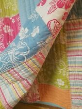 Brightly Colored Queen bed comforter Pm Teen