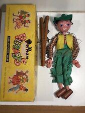 Vintage Pelham Puppets Cowboy Within Its Original Box