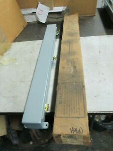 "Hoffman Wireway Straight Section #F-2230 2-1/2x2-1/2""x30"" Long Steel/Gray (NIB)"