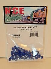 NCE #286 Track Bus Taps for 14-16 AWG Blue, 20 ct NEW