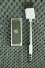 Apple iPod Shuffle 3rd generazione (late 2009) ARGENTO (2GB) ottime condizioni