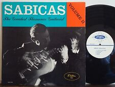 SABICAS Flamenco Vol.2 MEGA RARE 1957 DG ELEKTRA MONO LP 1st Label LATIN GUITAR