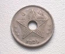 Congo 5 centimes 1925 (Albert I) - XF/UNC