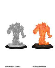 figurine HD mini deep cuts wizkids JDR D&D pathfinder Fire Elemental