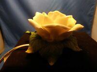 VINTAGE PORCELAIN FLOWER Table Lamp/Night Light. RARE!