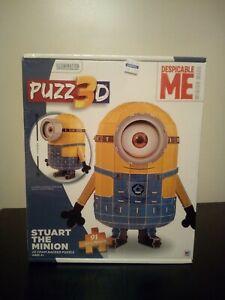 Stuart the Minion Despicable Me 3D Puzzle New