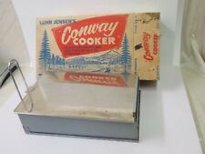 Luhr Jensen Conway Cooker Smoker 1950s Brand New Original Box Little Chief