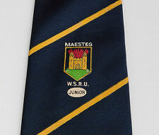 Maesteg boy's WRSU tie Welsh School Rugby Union Junior South Wales team children