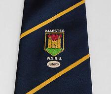 Maesteg boy's WRSU tie Welsh School Rugby Union Junior South Wales team children