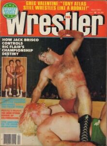 Exc wrestling Magazine NWA 1982 Brisco Flair Armstrong Hulk Hogan WWF Wrestler