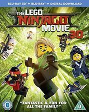 The Lego Ninjago Movie 3d Blu-ray DVD Region 2