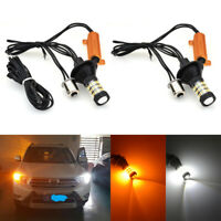 2x 1156 BA15S P21W 60 LED à Commutation De Jour Canbus Kit Ampoule De Clignotant