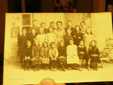 rare cp photo  ecole a bar le duc 55 avant 1914