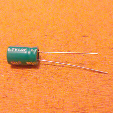 1F (Farad). 2.7V Capacitor. Supercapacitor. Ultracapacitor. Very Low ESR.