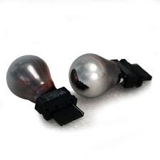 2x Cromo Color Ámbar Indicador Intermitente Bombillas Cromado 3157 3156 par Stealth T20 Cuña