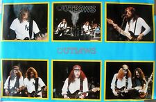 Rare The Outlaws 1980 Vintage Original Music Poster