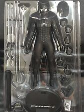 1/6 Hot Toys Marvel Spider-Man 3 MMS165 Black Suit Peter Parker Loose Figure