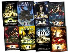 Alex Scarrow Time Riders 8 Books Collection Pack Set The Mayan Prophecy New