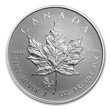 2014 1 oz Silver Canadian Maple Leaf Coin - Lunar Horse Privy - SKU #79543