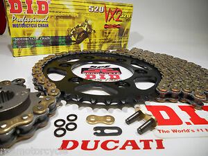 DUCATI 1999-2002 750SS 750 SUPER SPORT DID CHAIN AND SPROCKETS KIT