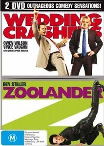 Wedding Crashers  / Zoolander (DVD, 2007, 2-Disc Set)