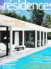 RESIDENCES DECORATION N° 70 . NATACHA AMAL UNIVERS INTIME . AFRIQUE DU SUD