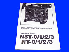 Elf Nt1 Nt2 Nt3 16mm Cine Projector Instructions Book