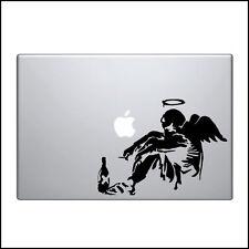 "Macbook Aufkleber Sticker Decal skin Air Pro 11"" 13"" 15"" 17"" Bansky heimatlos"