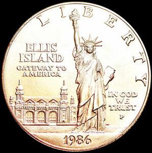 UNITED STATES OF AMERICA - PHILADELPHIA MINT - UNC 1 DOLLAR 1986 - SILVER  #K24