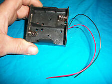 """Battery Holder """"D"""" Size Batteries, 1.5V Volt, D format,  Universal Applications"""