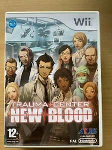 Trauma Center Nw Blood Wii Doctor Hospital Medical Game Video Game for Nintendo