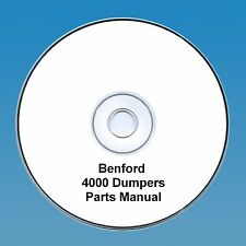 Benford 4000 Straight & Swing Dumpers - Parts Manual