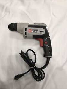 """USED PORTER CABLE PC600D ELECTRIC 3/8"""" VSR 6 AMP DRILL KEYLESS NEW IN BOX SALE"""