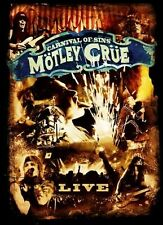 MOTLEY CRUE (CARNIVAL OF SINS - 2 DISC DVD SET SEALED + FREE POST)