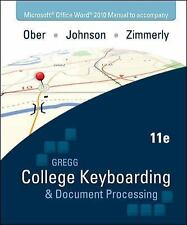 Microsoft Office Word 2010  Manual t/a Gregg College Keyboarding & Document