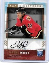 JEROME IGINLA 2006-07 BE A PLAYER BAP SIGNATURES CERTIFIED AUTOGRAPH