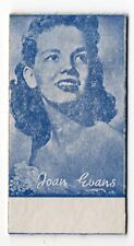 Spanish Weighing Weight Machine Card Anonymous issuer US Actress Joan Evans