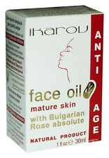 IKAROV Face Oil Mature Skin With Bulgarian Rose Anti - Age 100% Natural 30ml