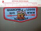Boy Scout OA 309 Quanopin flap 1009DD