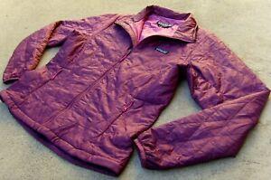Patagonia Primaloft Nano Puff Jacket Women's size L Full zip balsamic