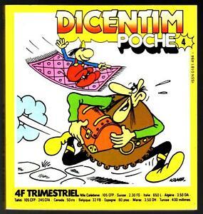 # DICENTIM  POCHE n°4 #   # 1978 VAILLANT