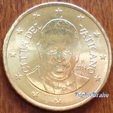50 cent 2014 VATICANO VATIKAN VATICAN BU FDC UNC da Rotolino From Roll FRANCIS