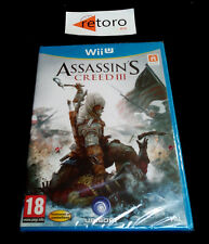 Assassins Creed 3 Nintendo Wii u 3307215655078