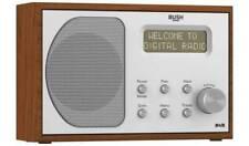 Bush DAB & FM Wooden Radio Portable Digital Radio - Mains or Battery - Presets