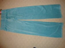 GORGEOUS NEW JUICY COUTURE SWEATS/TRACK PANTS IN BLUE VELOUR (NWT)