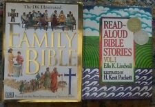 The Illustrated Family Bible DK BOOK HC DJ 1st American Ed 1997+Read Aloud Vol 1
