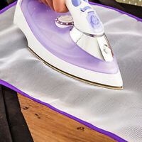 Heat Resistant Ironing Foldable Mat Laundry Pad Washer Dryer Blanket Cover Board