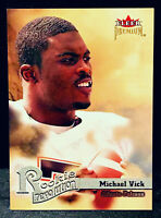 2001 Fleer Premium MICHAEL VICK Rookie Revolution RC #7 * FALCONS * Rookie Card